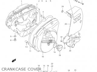 Suzuki LS650P SAVAGE 1996 (T) USA (E03) parts lists and