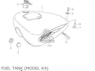 Suzuki LS650P SAVAGE 1996 (T) USA (E03) parts lists and
