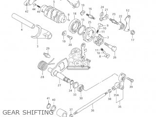 Suzuki Ls650p Savage 1996 (t) Usa (e03) parts list