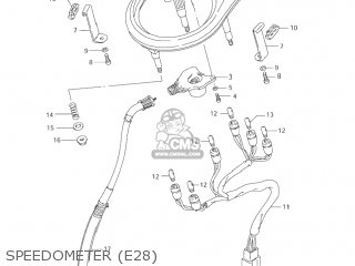 Suzuki LS650P SAVAGE 2002 (L2) USA (E03) parts lists and