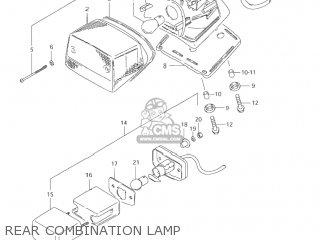 Suzuki Ls650p Savage 2003 (l3) Usa (e03) parts list