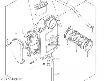 Suzuki Ls650 ,s40 2005-2006 (usa) parts list partsmanual