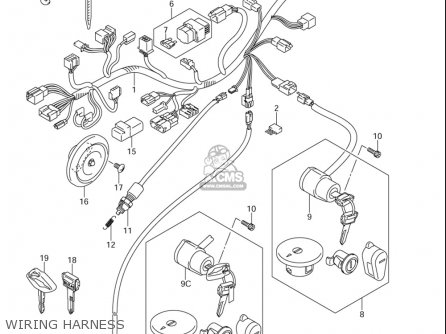 Suzuki Ls650 ,s40 2005-2006 (usa) parts list partsmanual