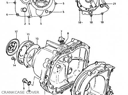 Suzuki Lt-125 1984 (e) parts list partsmanual partsfiche