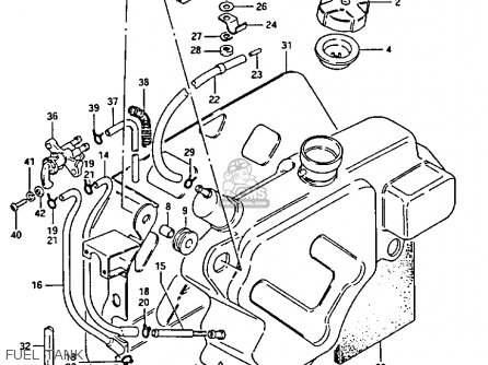 Suzuki 185 Quadrunner Clutch Diagram, Suzuki, Free Engine