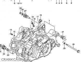 Suzuki LT-4WD QUAD RUNNER 1996 (T) USA (E03) QUADRUNNER