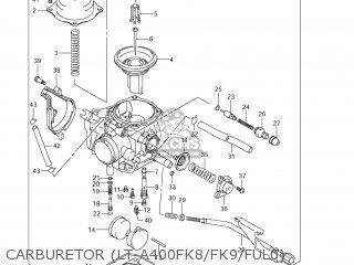 Suzuki LT-A400F KING QUAD 2009 (K9) USA (E03) KINGQUAD