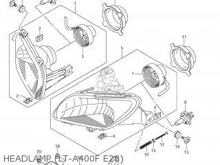 Suzuki LT-A400FZ KING QUAD 2012 (L2) USA (E03) KINGQUAD