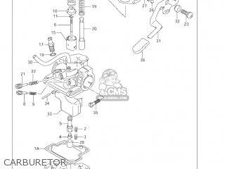 Suzuki Lt-a50 Quad Master 2002 (k2) Usa (e03) Quadmaster