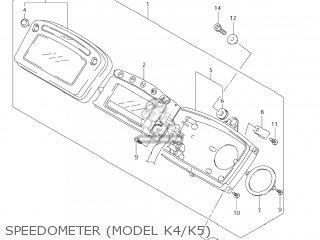 Suzuki LT-A500F VINSON 4WD 2005 (K5) USA (E03) LTA500F LT