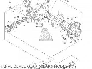 Suzuki LT-A700X KING QUAD 2007 (K7) USA (E03) KINGQUAD