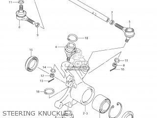 Suzuki LT-A700XPZ KING QUAD 2009 (K9) USA (E03) KINGQUAD