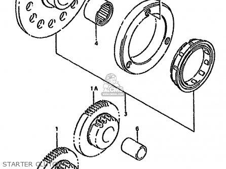 Suzuki Lt-f160 1990 (l) parts list partsmanual partsfiche