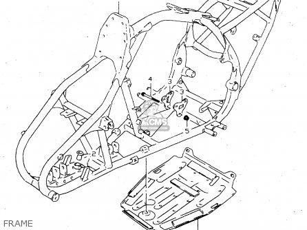 Suzuki Lt-f160 1999 (x) parts list partsmanual partsfiche