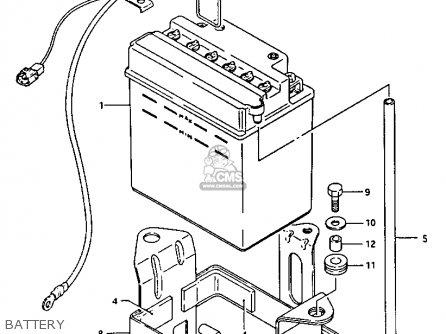 Suzuki Lt-f230 1987 (h) parts list partsmanual partsfiche