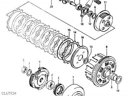 Suzuki Lt-f250 1989 (k) parts list partsmanual partsfiche