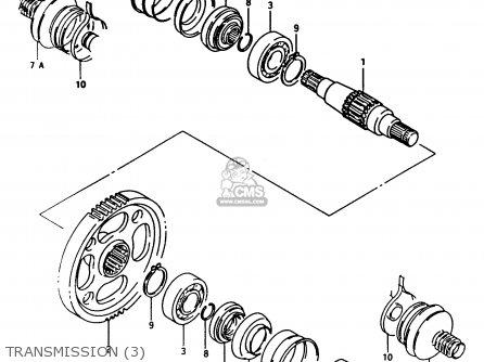 Suzuki Lt-f250 1991 (m) parts list partsmanual partsfiche