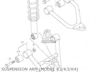 Suzuki LT-F250 OZARK 2002 (K2) USA (E03) LTF250 LT F250