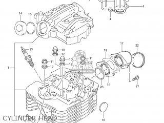 Suzuki LT-F250 OZARK 2007 (K7) USA (E03) LTF250 LT F250