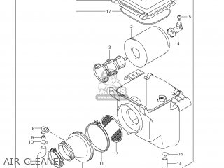 Suzuki LT-F250 OZARK 2012 (L2) USA (E03) LTF250 LT F250