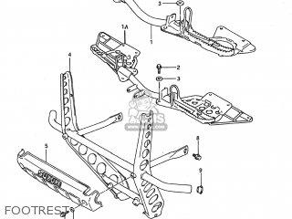Suzuki LT-F250 QUAD RUNNER 1988 (J) USA (E03) QUADRUNNER
