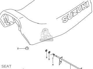 Suzuki LT-F250 QUAD RUNNER 1998 (W) USA (E03) QUADRUNNER