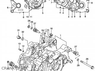 Suzuki LT-F250 QUAD RUNNER 2WD 1999 (X) USA (E03