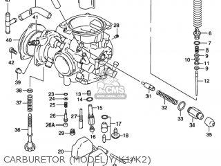 Suzuki LT-F250F QUAD RUNNER 2WD 1999 (X) USA (E03