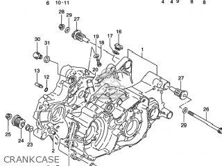 Suzuki LT-F250F QUAD RUNNER 2WD 2002 (K2) USA (E03