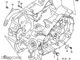 Suzuki LT-F400F EIGER 4WD 2002 (K2) USA (E03) LTF400F LT