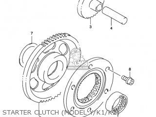 Suzuki LT-F500F QUAD RUNNER 4WD 1999 (X) USA (E03