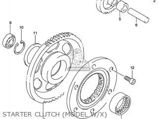 Suzuki LT-F500F QUAD RUNNER 4WD 2000 (Y) USA (E03