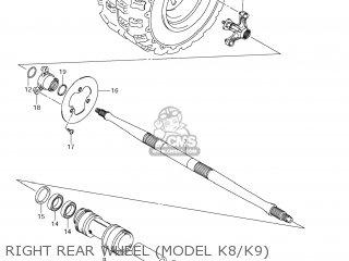 Suzuki LT-R450 QUAD RACER 2007 (K7) USA (E03) QUADRACER