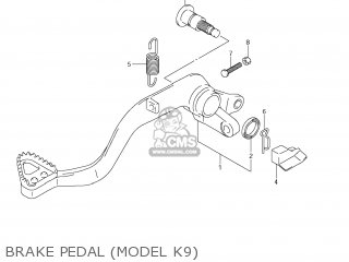 Suzuki LT-R450 QUAD RACER 2008 (K8) USA (E03) QUADRACER