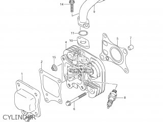 Suzuki LT-Z50 QUAD SPORT 2007 (K7) USA (E03) QUADSPORT