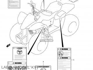 Suzuki LT-Z50 QUAD SPORT 2009 (K9) USA (E03) QUADSPORT