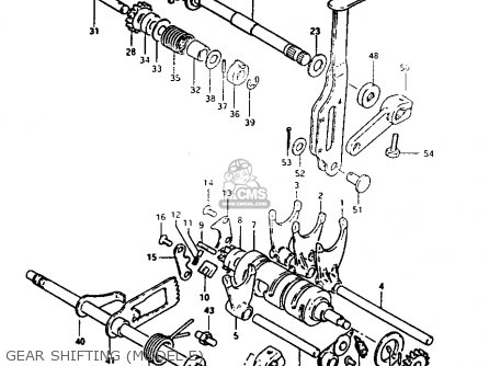 Suzuki Lt125 1983 (d) parts list partsmanual partsfiche