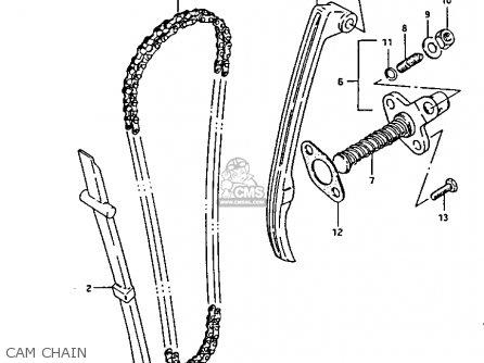 Suzuki Lt125 1987 (h) parts list partsmanual partsfiche