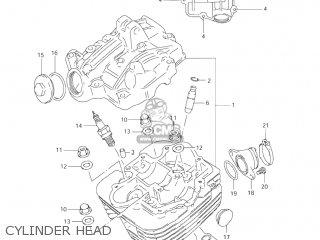 Suzuki LT160 QUAD RUNNER 2003 (K3) USA (E03) QUADRUNNER