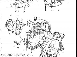 Suzuki LT185 1985 (F) USA (E03) parts lists and schematics