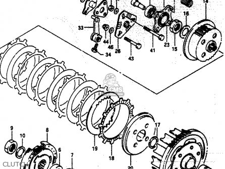 Suzuki LT230E 1987 (H) parts lists and schematics