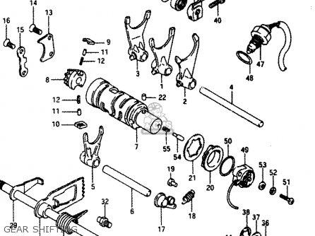 Suzuki LT230E 1987 (H) parts lists and schematics