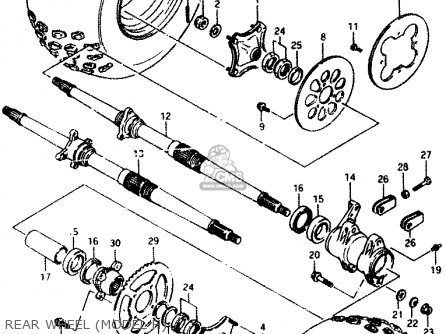Suzuki Lt230e 1988 (j) parts list partsmanual partsfiche