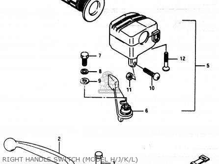 Suzuki Lt230e 1988 (j) parts list partsmanual partsfiche
