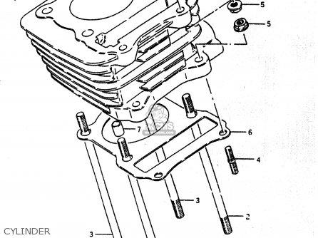Suzuki Lt230e 1989 (k) parts list partsmanual partsfiche