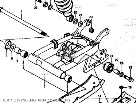 Suzuki LT230E 1992 (N) parts lists and schematics