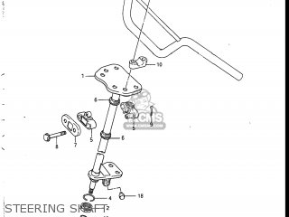 Suzuki Lt230s 1986 (g) Usa (e03) parts list partsmanual