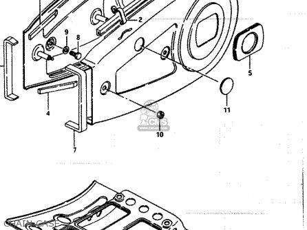 Suzuki Lt250 1986 (efg) parts list partsmanual partsfiche