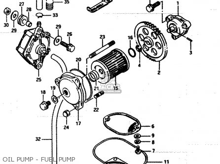 Suzuki Lt250 1986 (efg) parts list partsmanual partsfiche