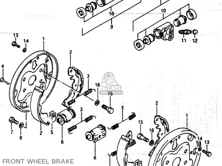 Suzuki LT250EF 1985 (F) parts lists and schematics